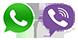 Viber and WhatsApp